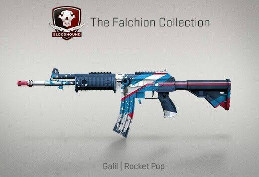 StatTrak™ Galil AR | Rocket Pop (StatTrak™ Mil-Spec Rifle)