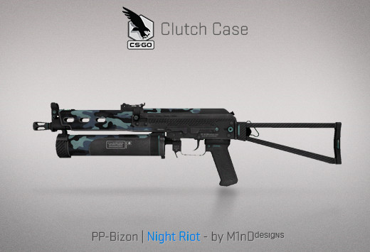 StatTrak™ PP-Bizon | Night Riot
