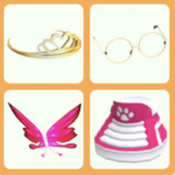 Royal butterfly bundle - adopt me