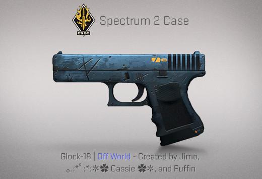 StatTrak™ Glock-18 | Off World