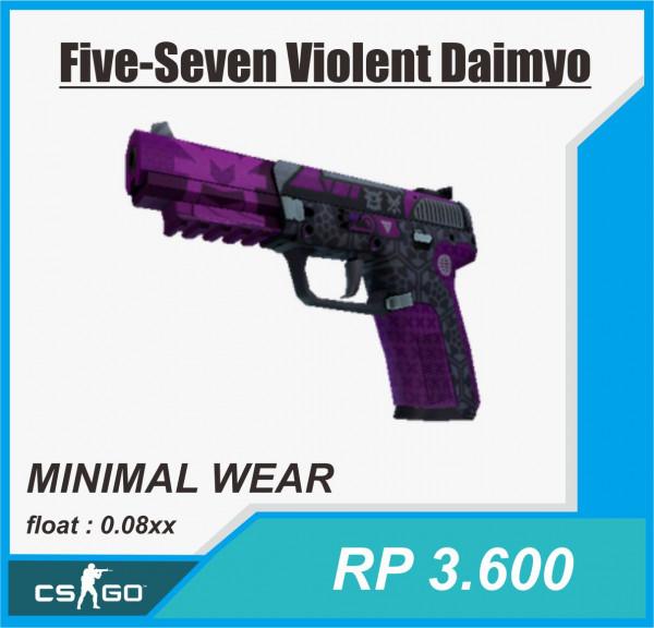 Five-SeveN | Violent Daimyo (Minimal Wear)