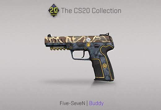 StatTrak™ Five-SeveN | Buddy