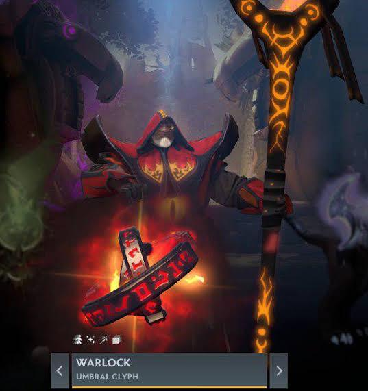 Umbral Glyph (Immortal TI9 Warlock)