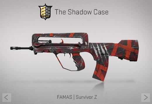 StatTrak™ FAMAS | Survivor Z (StatTrak™ Mil-Spec Rifle)