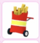 French fries stroller
