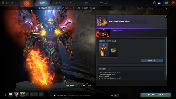 Wrath of the Fallen (Bundle Doom Collector's Cache TI 10)