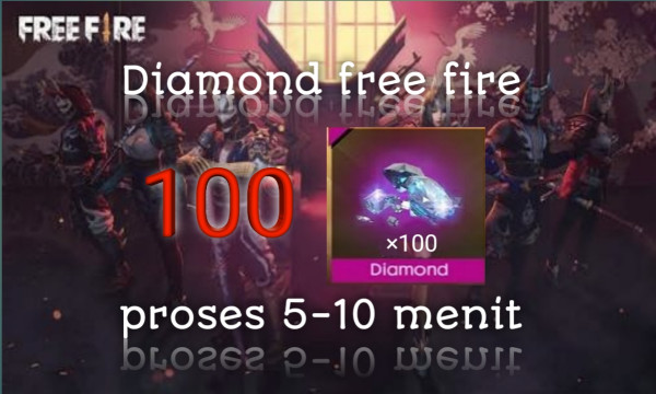 Diamond free fire 100 DM