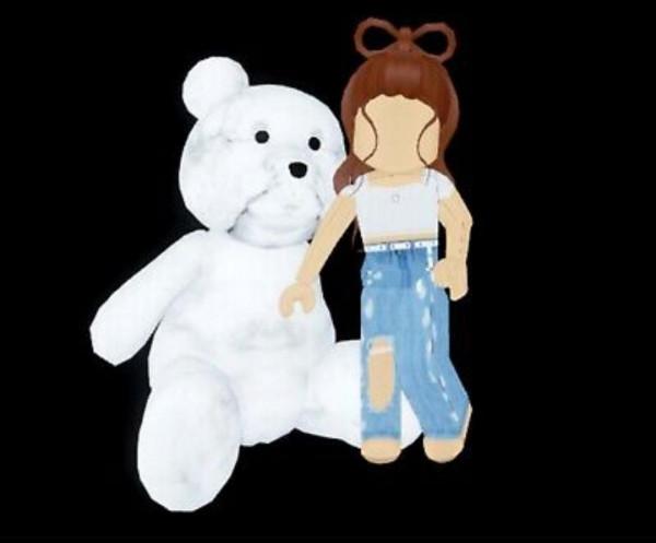 Giant Teddy Bear - Royale High