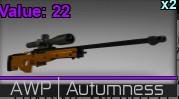 Counter blox II AWP autumness