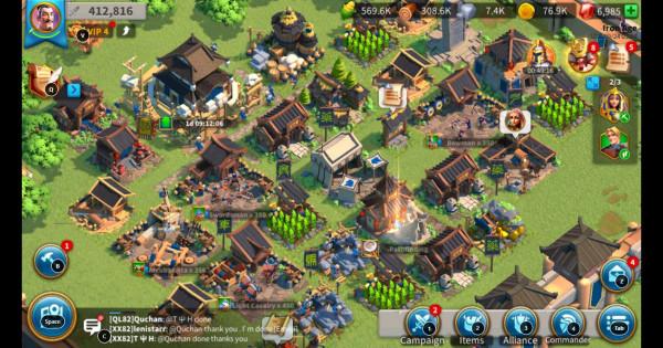 Akun Rise of Kingdoms Murah Part. 04