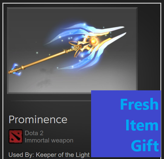 Prominence (Immortal TI 10 Keeper of The Light)