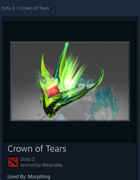 Crown of Tears (Immortal Morphling)