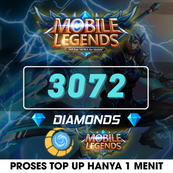 3072 Diamonds