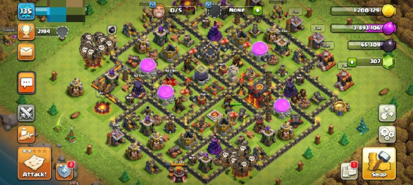 Clash of Clans SC ID-TH 10 Semi Max