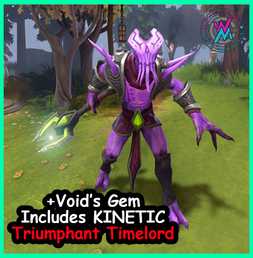 Ins. The Tentacular Timelord (Faceless Void Set) +