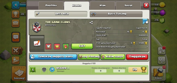 Clan Level 8 ada 2 stok