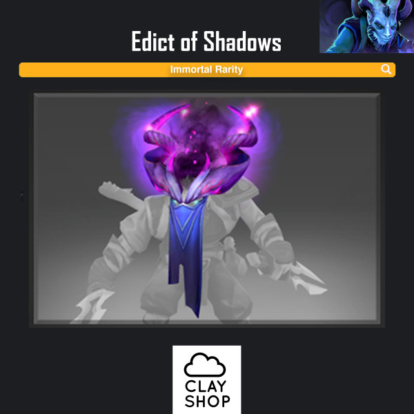 Edict of Shadows (Immortal TI8 Riki)