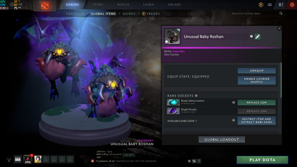 Unusual Baby Roshan (Courier)