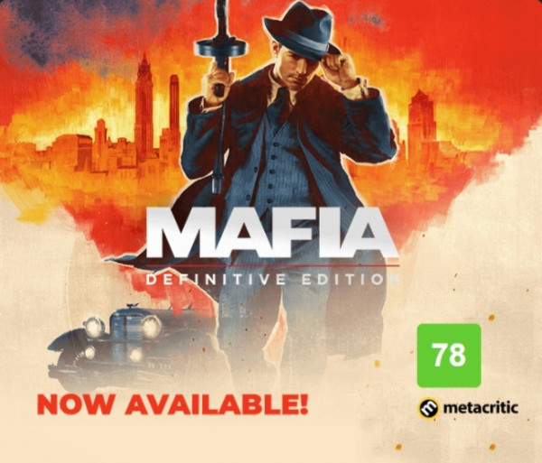 Mafia : Definitive Edition (EU) Steam Key