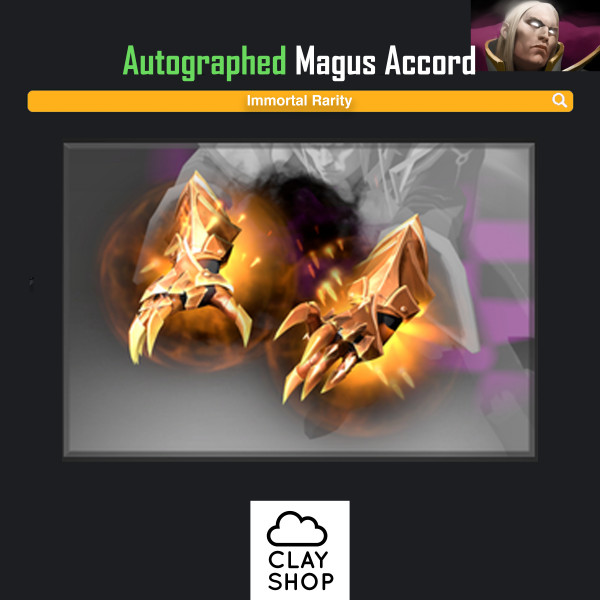 Magus Accord (Immortal TI7 Invoker)