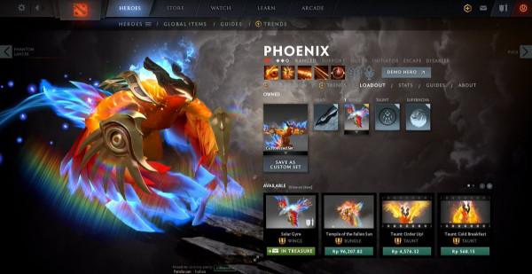 Solar Gyre (Immortal TI 10 Phoenix)