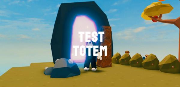 100pcs Test Totem - Island Skyblock Sky Block
