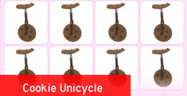Cookie Unicycle - Adopt Me