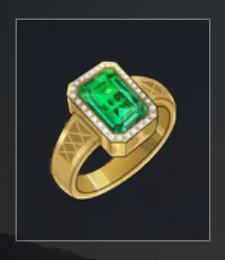 Popularity +400 Gemstone Ring EVENT + 10 bonus