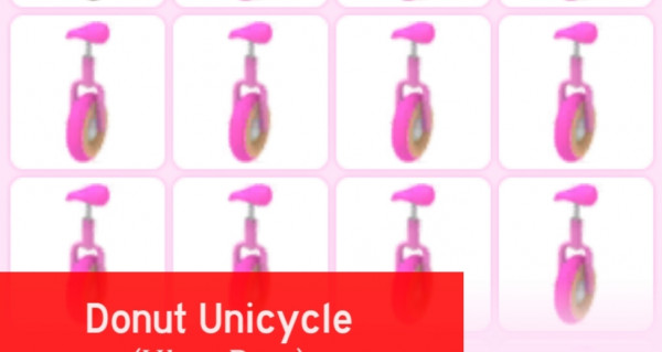 Donut Unicycle (Adopt Me)