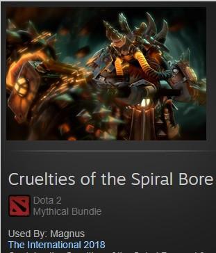 Cruelties of the Spiral Bore (Magnus Set)