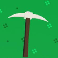 Gilded Pickaxe || Roblox Island