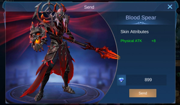 Blood Spear (Epic Skin Moskov)