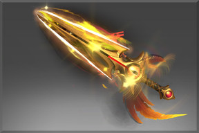 Golden Bloodfeather Feast (Immortal TI8 Queen of Pain)