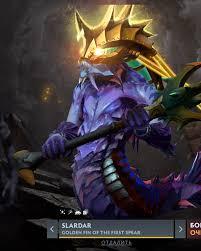 Golden Fin of the First Spear (Immortal TI 10 Slardar)