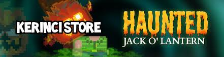 Haunted jack o lantern