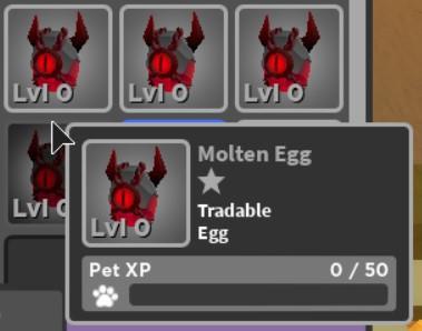 Molten Egg | World//Zero