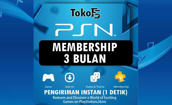 Plus Membership (ASIA) - 3 Bulan