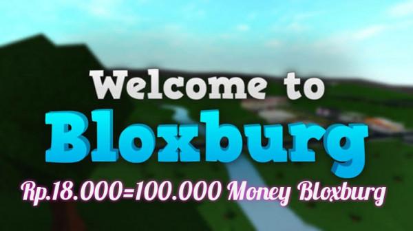 100.000 Money Bloxburg { Roblox Resmi }