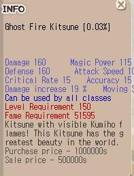Ghost Fire Kitsune+0 (GFK)