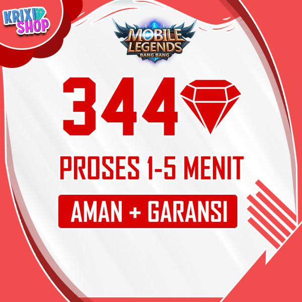 344 diamonds
