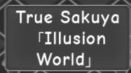 Sakuya a universal time