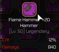 Flame Hammer Max [Swordburst 2]