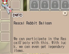 Rascal Rabbit Balloon / Ballon
