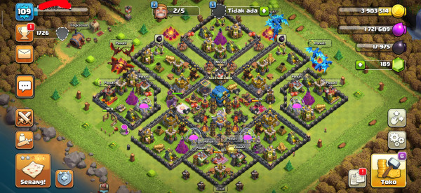 Clash Of Clans|Town Hall 12|Murah