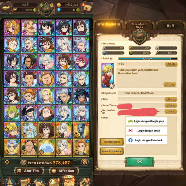 Akun Server Global| Hero 2 UR, 29 SSR| MurahMeriah