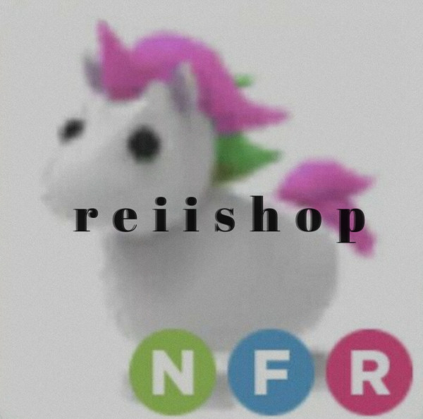 Nfr Unicorn Adopt Me FULLGROWN (Neon Fly Ride)