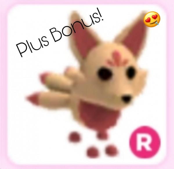 Kitsune Rideable Adopt Me plus Bonus