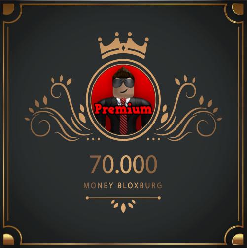 70.000 Money Bloxburg