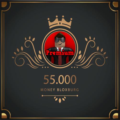55.000 Money Bloxburg