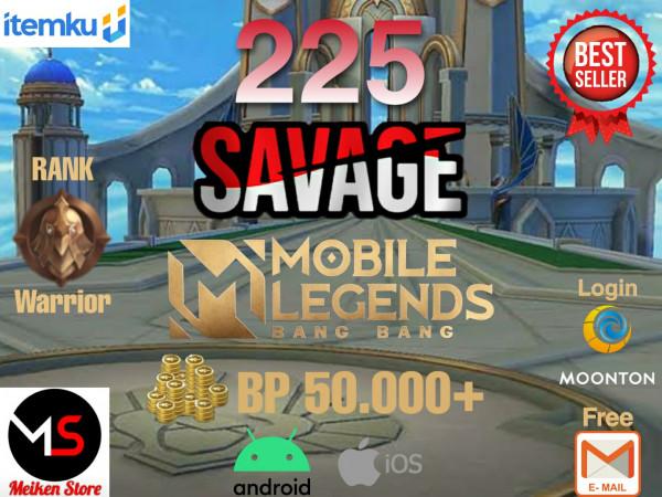 225 Savage bisa request ganti nama Berwarna